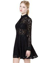 Nasty Gal Viola Lace Dress - Lyst