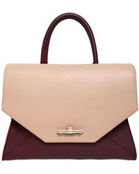 Givenchy Medium Obsedia Two Tone Leather Bag - Lyst