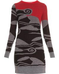 Diane Von Furstenberg Sweater Dress - Lyst