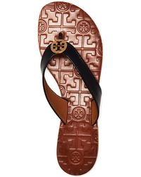 Tory Burch Flat Thong Sandals - Exclusive Thora - Lyst