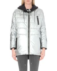 Maje Quilted Shell Coat - Lyst