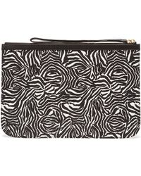 Pierre Hardy Large Snake Cube Print Pouch - Lyst