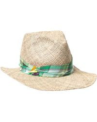 House of Lafayette - Kate Seagrass Hat - Lyst