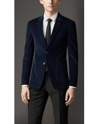 Burberry Slim Fit Unlined Cotton Jacket - Lyst