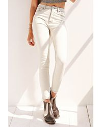 BDG Twig Highrise Jean  Dirty White - Lyst