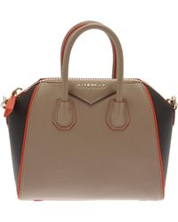 Givenchy Mini Antigona Grained Leather Bag - Lyst