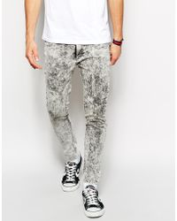 Cheap Monday Super Skinny Jeans - Lyst