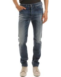 Diesel Buster Light Blue Jeans blue - Lyst
