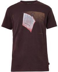 Marc Jacobs Purple Logoprint Tshirt - Lyst