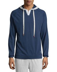 Original Penguin Jersey Hooded Sweatshirt - Lyst