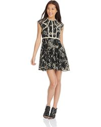 Free People Lauren Lace Dress - Lyst