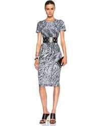 McQ by Alexander McQueen Long Bodycon Dress - Lyst