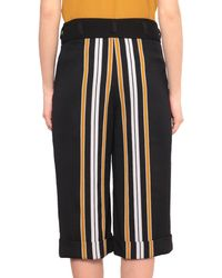 Paolo Errico - Oversized Wool Striped Shorts - Lyst