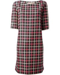 Marni Checked Print Dress - Lyst