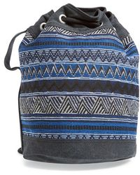 TOMS - 'Rebel' Print Bucket Bag - Lyst