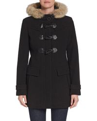 Marc New York By Andrew Marc Piper Fur-Trimmed Toggle Coat - Lyst