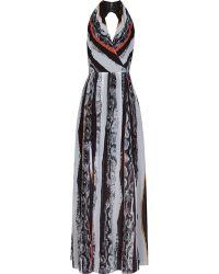 Reiss 1971 Derwent Printed Maxi Dress - Lyst
