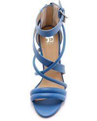 Joe's Jeans - Robbie Strappy Sandals - Blue - Lyst