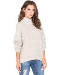 Twelfth Street Cynthia Vincent - Turtleneck Swing Sweater - Lyst