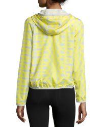 Charlie Jade - Printed Zip-front Hooded Jacket - Lyst