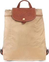 Longchamp Le Pliage Backpack - Lyst