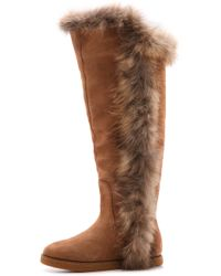 Koolaburra - Sasha Ii Knee-High Fur Boot - Lyst