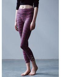 Free People Space Dye Lotus Legging - Lyst
