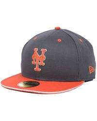 the latest 7c5dd 9e0fe ... discount ktz new york mets opening day 59fifty cap lyst c2ff5 731c7