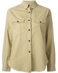 Isabel Marant Button-Down Collar Shirt - Lyst
