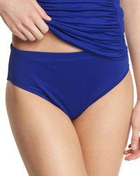 La Blanca - High-waist Solid Swim Bottom - Lyst