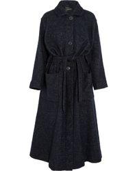 Isabel Marant Evana Brushed Woolblend Coat - Lyst