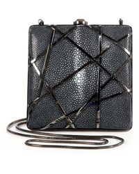 Reed Krakoff Crisscross Stingray Clutch - Lyst