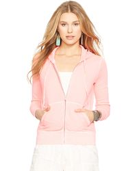 Polo Ralph Lauren French Terry Zip-Up Hoodie - Lyst