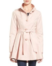 Betsey Johnson | Belted High-low Trench Coat | Lyst