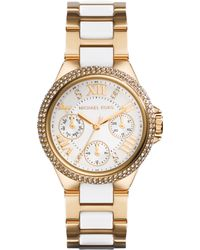 Michael Kors Camille Ladies Chronograph Bracelet Watch - Lyst