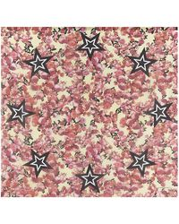 Givenchy Roses and Stars Scarf - Lyst