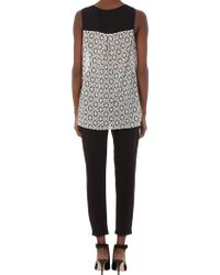 Timo Weiland - Circle Pattern and Eyelet Tank - Lyst