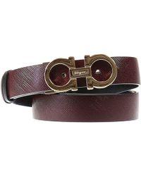 Ferragamo Belt Woman brown - Lyst