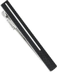 Hugo Boss Textured Tie Bar - Lyst