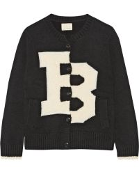 Band of Outsiders | Merino Wool-Blend And Bouclé Cardigan | Lyst