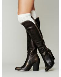 Free People Cross My Heart Tall Boot - Lyst