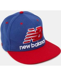 5986144adc5 New Balance - Courtside Snapback Cap - Lyst