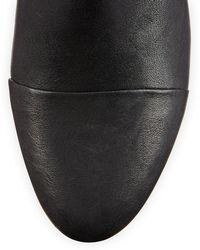 Rag & Bone Margot Leather Zip Bootie - Lyst