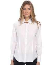 Vivienne Westwood Anglomania Cut In Shirt - Lyst