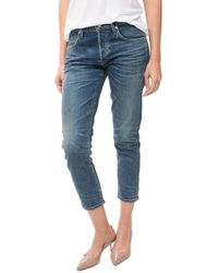 Citizens of Humanity | Elsa Mid Rise Slim Fit Crop | Lyst