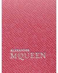 Alexander McQueen Heroine Iphone Case and Card Holder - Lyst