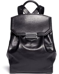 Alexander Wang Prisma Leather Backpack black - Lyst