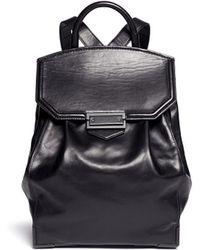 Alexander Wang Prisma Leather Backpack black - Lyst