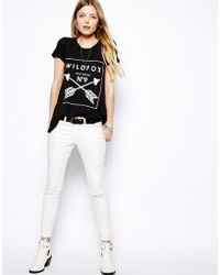 Wildfox Tshirt with Cupid Potion Print Exclusive To Asos - Lyst