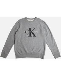 CALVIN KLEIN 205W39NYC - Jeans Classic Sweatshirt Grey - Lyst